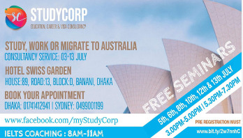 Free seminar offered to build career in Australia
