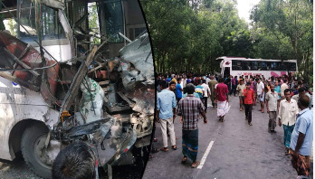 Collision between two buses leaves seven dead in Thakurgaon