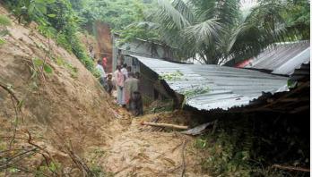 Bandarban landslide kills woman