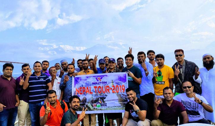 নেপাল ঘুরে এলেন ওয়ালটন টিভির ২৩ ব্যবসায়ী
