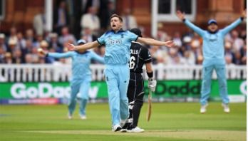England need 242 runs to win first ever World Cup