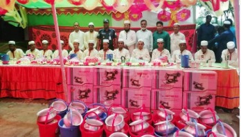 Dowry-free mass wedding held in Sylhet