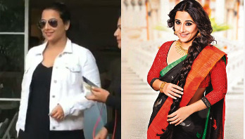 Vidya Balan's latest pictures spark pregnancy rumours