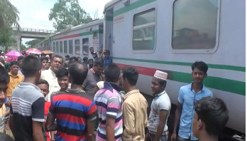 Train service between Dhaka, Rajshahi resumes