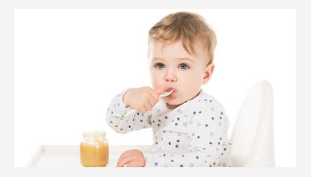 Give children less sugar and more veg in baby food