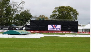 Tigers on top as Bangladesh, Ireland share points due to rain