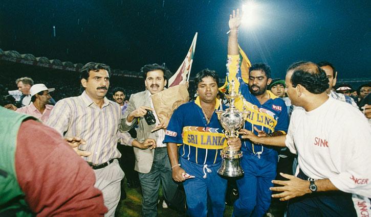 বিশ্বকাপ ১৯৯৬ : শ্রীলঙ্কার চমকে অবাক বিশ্ব