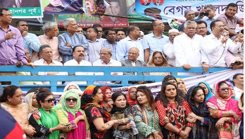 BNP stages demo demanding Khaleda's release