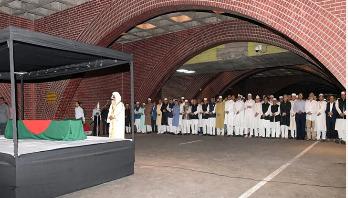 Badal's first janaza held
