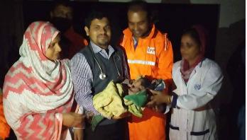 Baby born at cyclone shelter named 'Bulbuli'