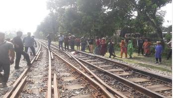 কুমিল্লায় ট্রেনে কাটা পড়ে নারীর মৃত্যু