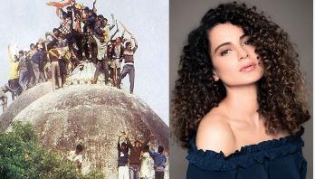 Kangana Ranaut to produce film on Ayodhya dispute