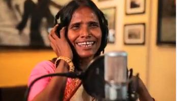 Ranu Mondal forgets lyrics on stage (video)