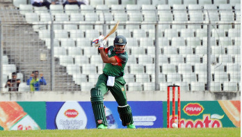 Soumya's all-round performance leads Bangladesh to final