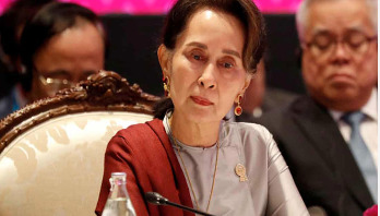 Suu Kyi faces first legal action over Rohingya issue