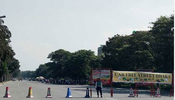 Car free street to be launched at Uttara