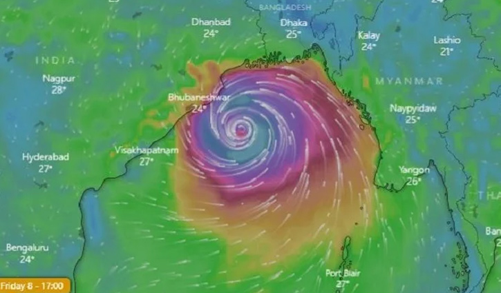 Cyclone Bulbul: Armed forces on alert