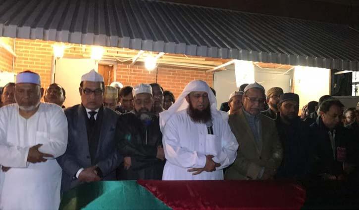 Khoka's first namaz-e-janaza held