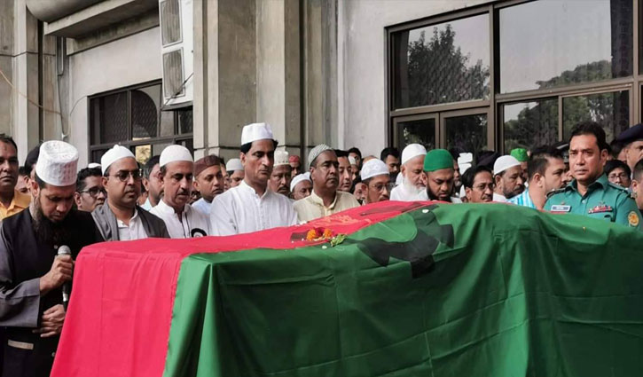 Khoka laid to eternal rest