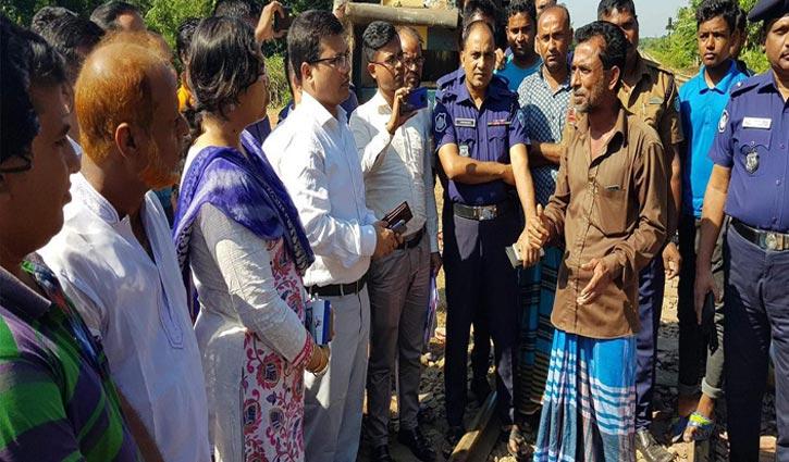 রেল দুর্ঘটনা : মন্দবাগে তদন্ত দল