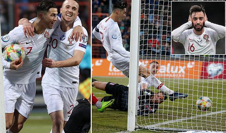 Ronaldo promises to break men's goals record