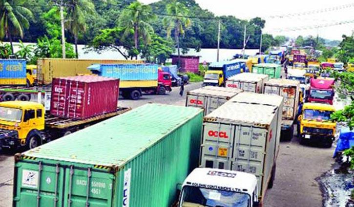 Indefinite transport strike in Sylhet-Companiganj route