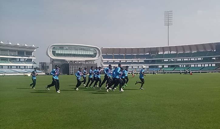 Tigers start practice in Rajkot