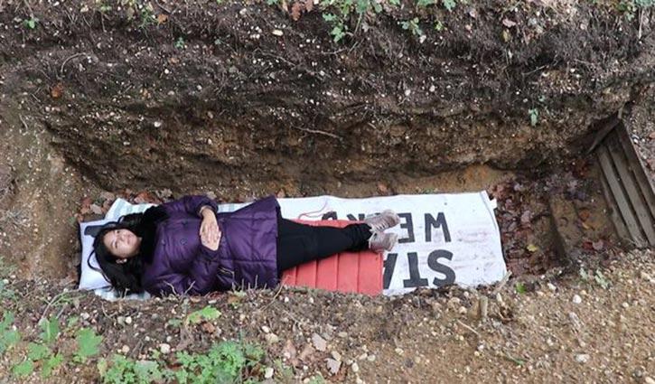 পরীক্ষা-ভীতি কমাতে 'কবর থেরাপি'