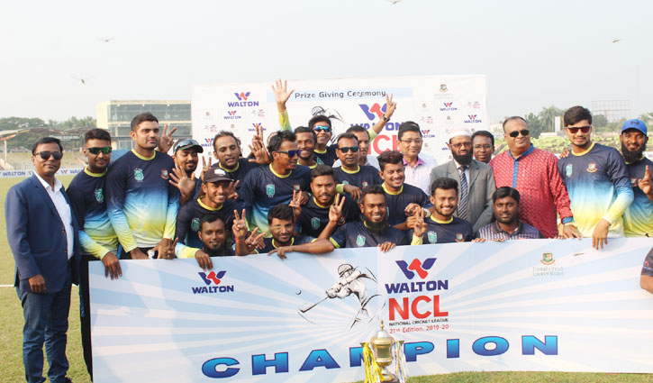 Khulna become champions for record 7th time in NCL
