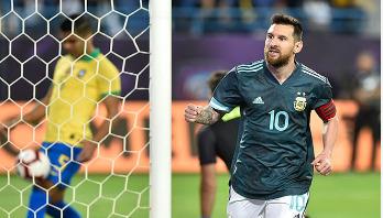 Messi scores as Argentina beat Brazil in Saudi Arabia