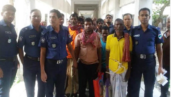11 Indian fishermen held for intrusion into Bangladesh