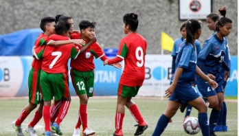 Bangladesh step into final of SAFF U-15 Championship
