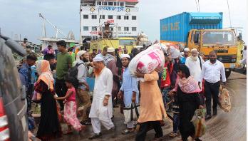 Shimulia-Kathalbari ferry services halted