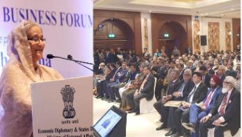 PM urges India-Bangladesh businessmen for mutual benefits