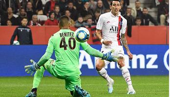 Di Maria scores twice in PSG win