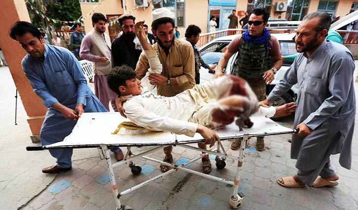 62 killed in Afghan mosque blast