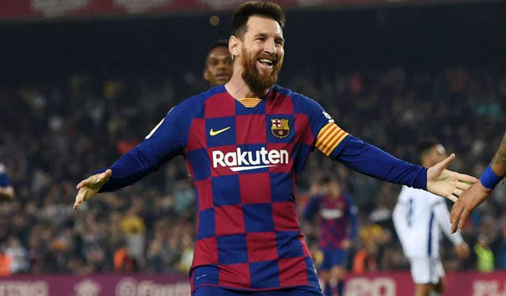 Messi scores 2 as Barca thrash Real Valladolid 5-1