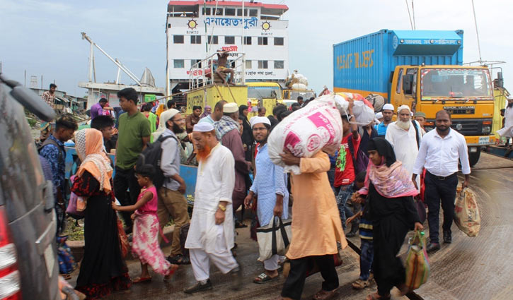 Shimulia-Kathalbari ferry services halted