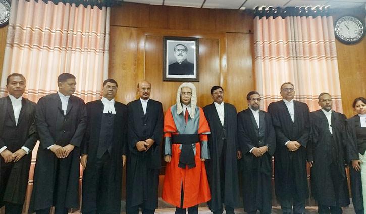 Nine new HC judges take oath