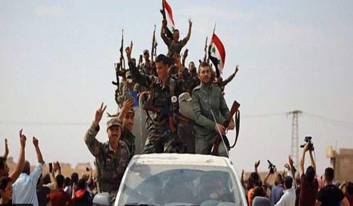 Syrian army heads north amid Turkish advance