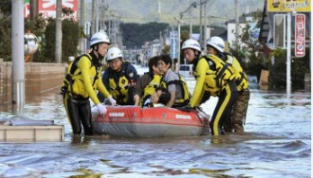 Typhoon Hagibis death toll rises to 74 in Japan
