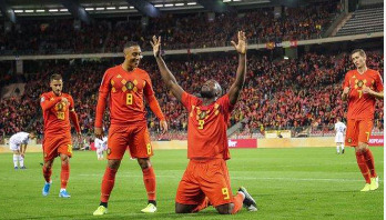 Belgium put nine past San Marino to reach Euro 2020