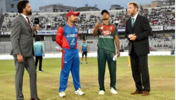 Afghanistan opt to bat first