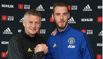 De Gea signs new contract at Man Utd until 2023