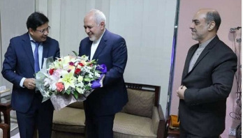 Iran's foreign minister arrives in Dhaka