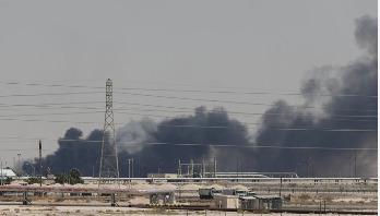 Saudi Arabia shuts down half its oil production