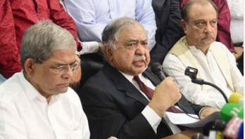 Oikya Front leaders hold meeting with diplomats
