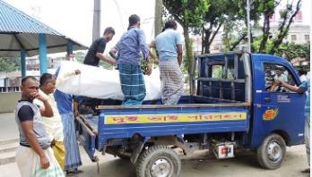 Hanging body found in Sirajdikhan