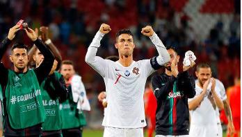 Portugal beat Serbia 4-2 as Ronaldo scores