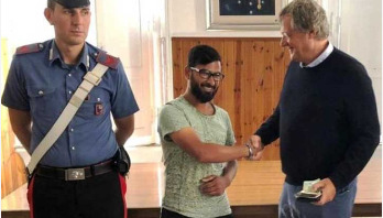 Bangladeshi in Rome comes to focus returning wallet to its owner